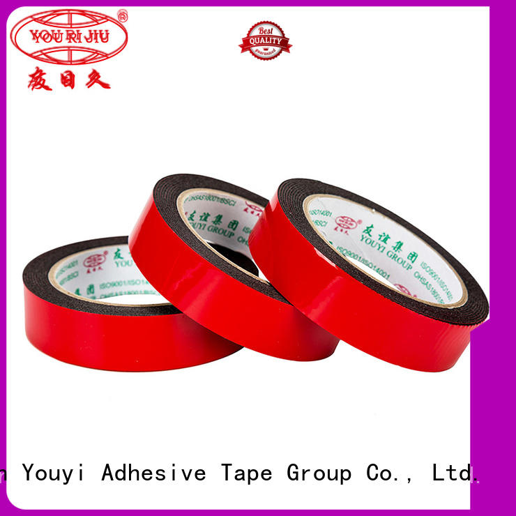 safe double sided tape manufacturer for food