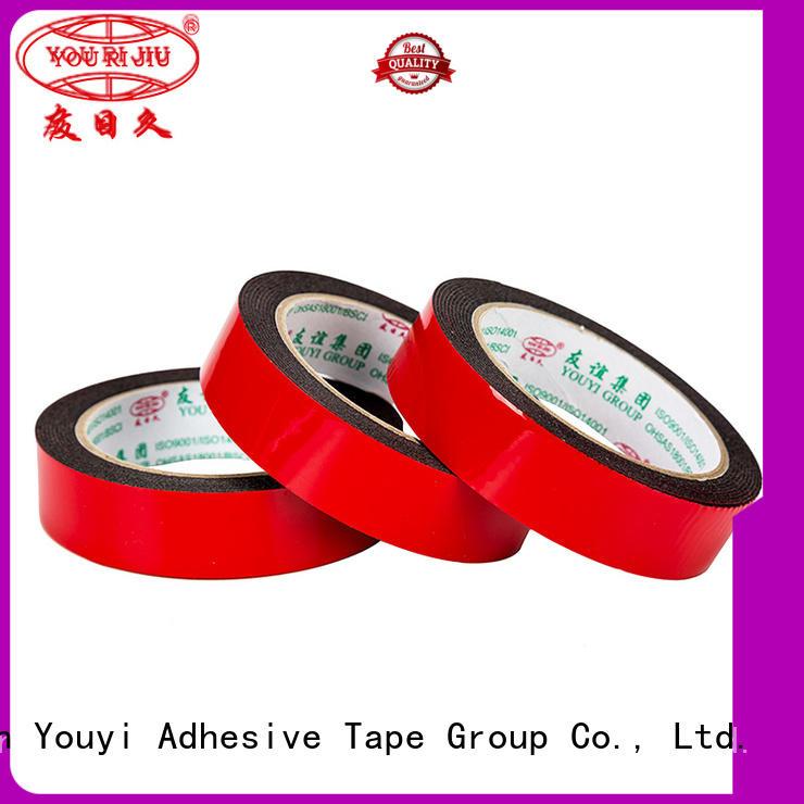 Yourijiu double sided eva foam tape promotion for stationery