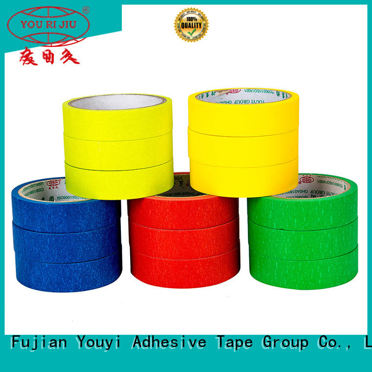 adhesive masking tape easy to use for home decoration
