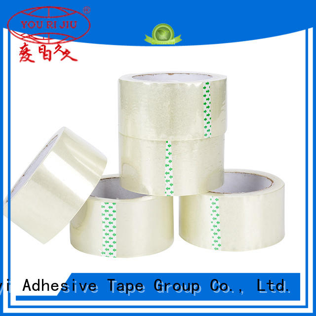 Yourijiu bopp adhesive tape factory price for strapping
