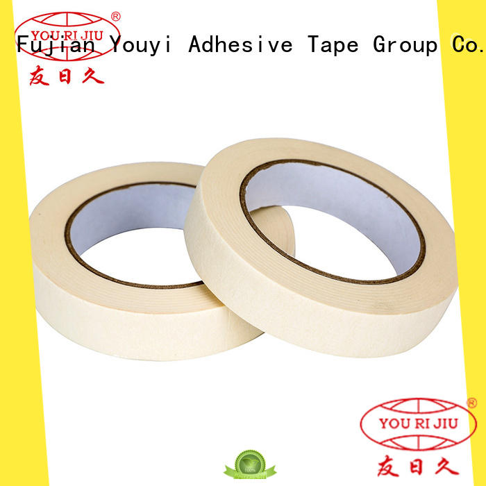 high temperature resistance masking tape price supplier for light duty packaging