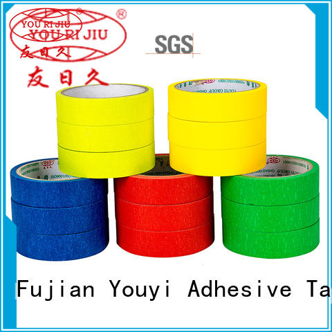 Yourijiu good chemical resistance best masking tape wholesale for woodwork