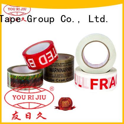 Yourijiu odorless clear tape supplier for carton sealing
