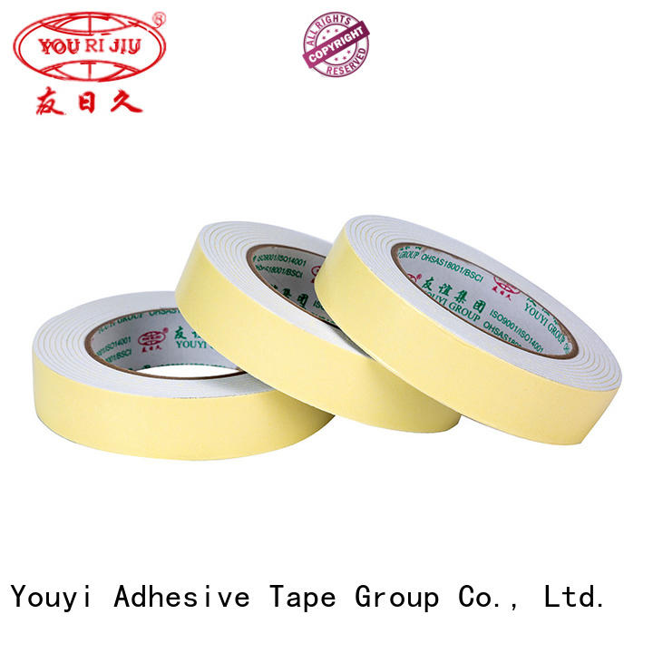 Yourijiu aging resistance double face tape promotion for office
