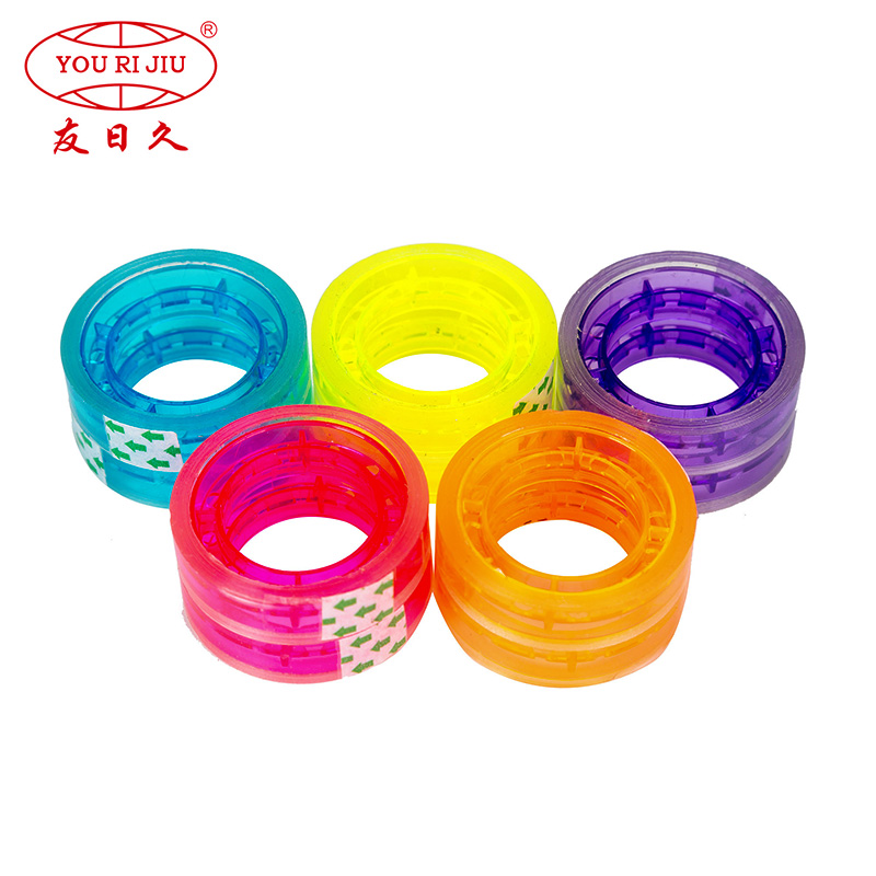 Yourijiu odorless colored tape anti-piercing for decoration bundling-1