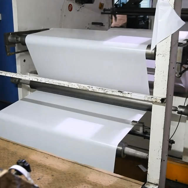 Double-sided tape production