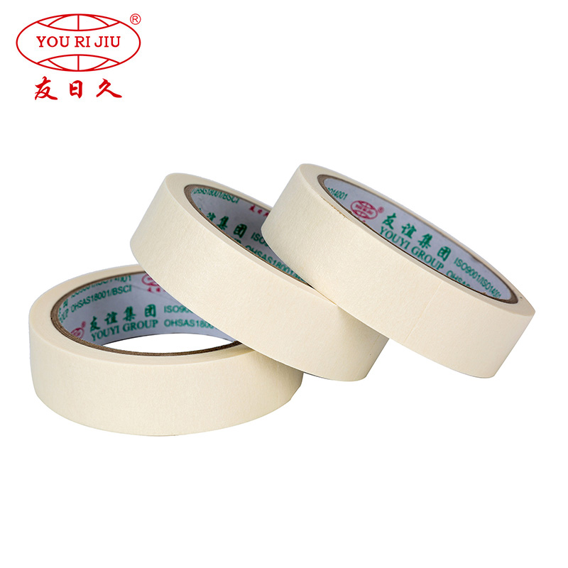 high adhesion paper masking tape wholesale for light duty packaging-1