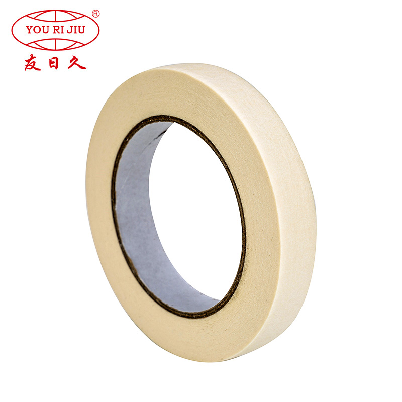 high adhesion paper masking tape wholesale for light duty packaging-2