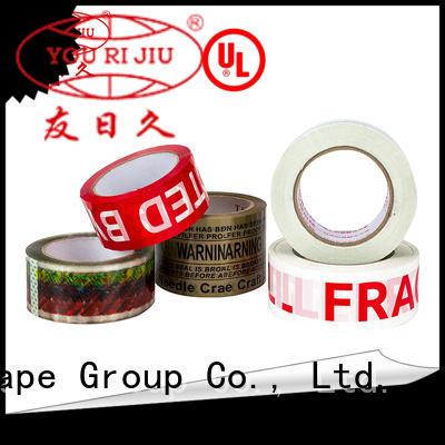 Yourijiu bopp packing tape anti-piercing for decoration bundling