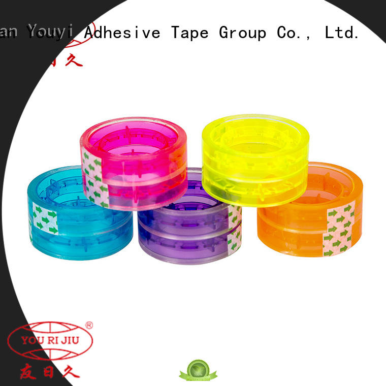 Yourijiu odorless bopp tape factory price for decoration bundling
