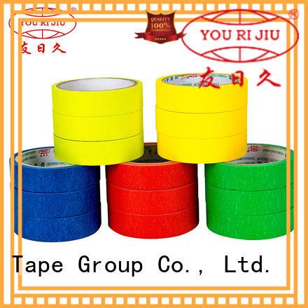 Yourijiu paper masking tape supplier for bundling tabbing