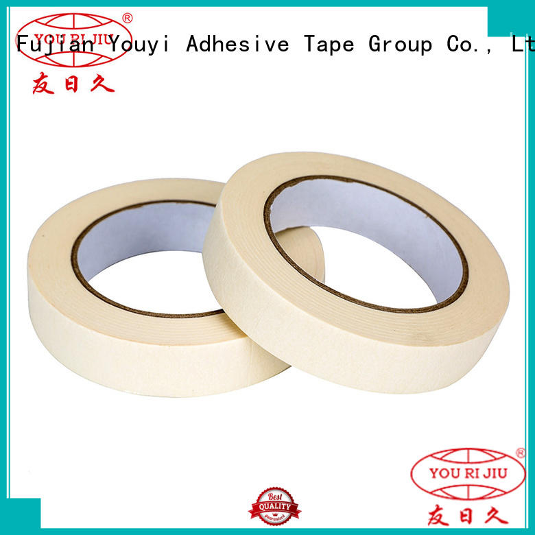 high temperature resistance adhesive masking tape supplier for light duty packaging