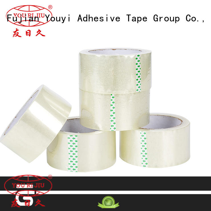 transparent bopp adhesive tape factory price for auto-packing machine
