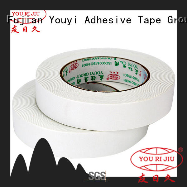 Yourijiu safe two sided tape promotion for stationery