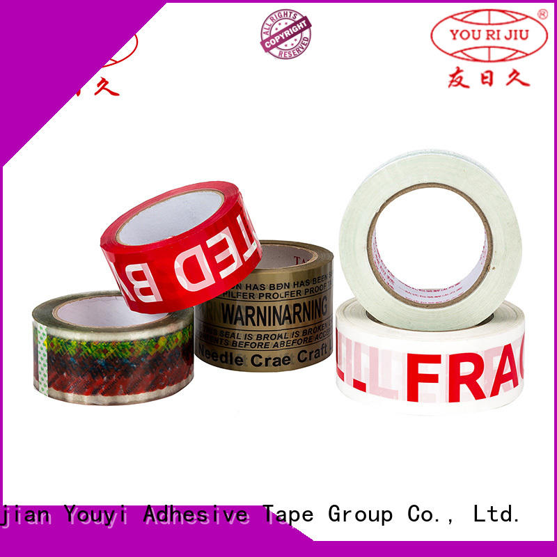 Yourijiu good quality bopp stationery tape high efficiency for gift wrapping