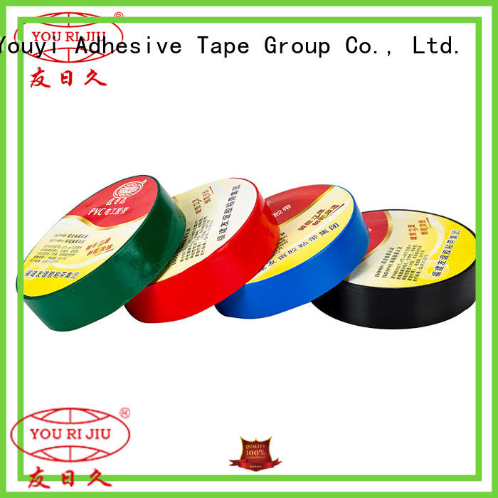 Yourijiu pvc adhesive tape personalized for wire joint winding