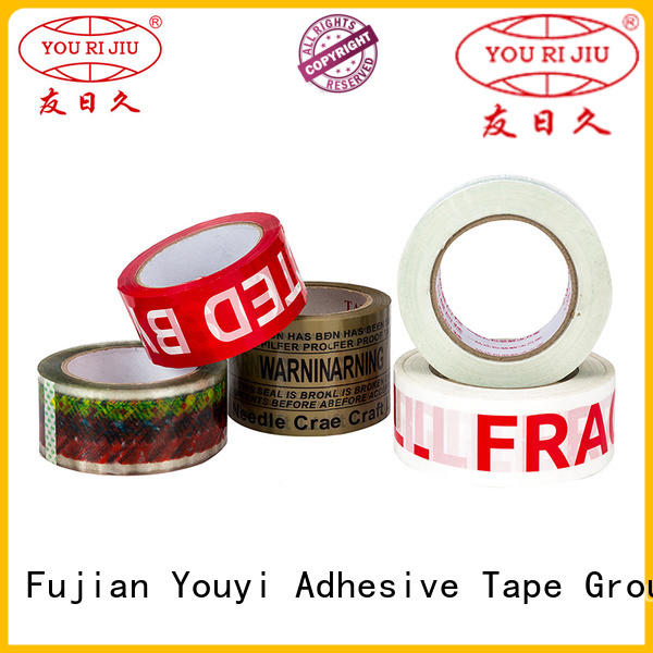 Yourijiu colored tape supplier for decoration bundling