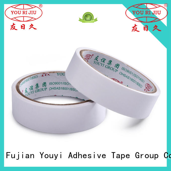 Yourijiu double side tissue tape manufacturer for food