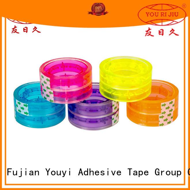 Yourijiu bopp printed tape anti-piercing for decoration bundling