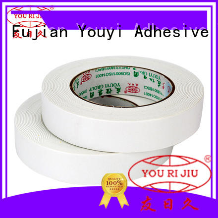Yourijiu safe two sided tape manufacturer for stickers