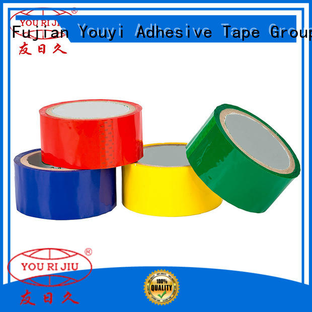 Yourijiu odorless bopp stationery tape supplier for auto-packing machine