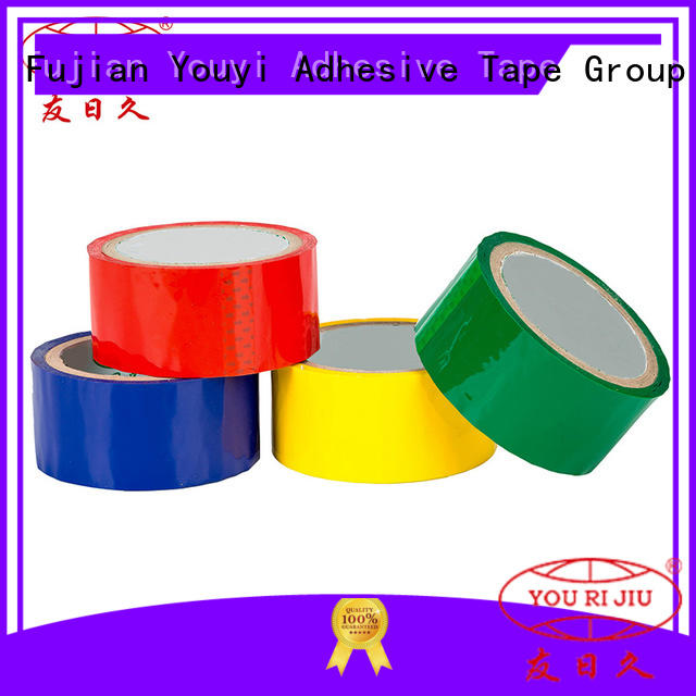Yourijiu odorless bopp tape high efficiency for decoration bundling