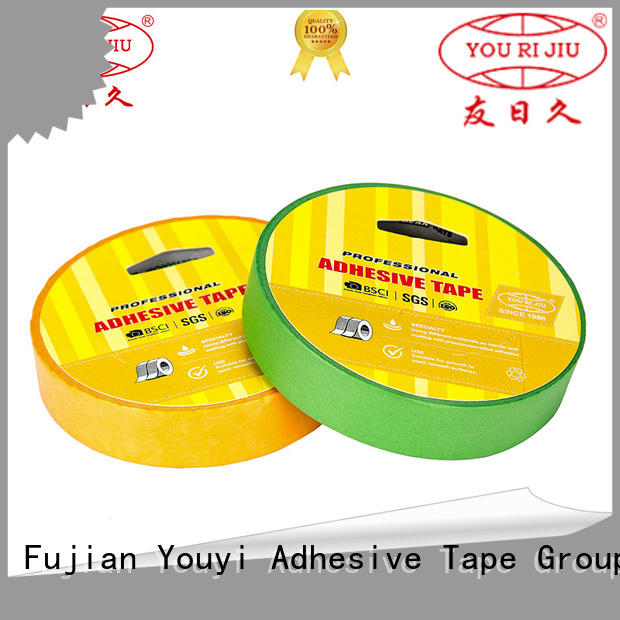 Yourijiu high quality paper tape manufacturer foe painting