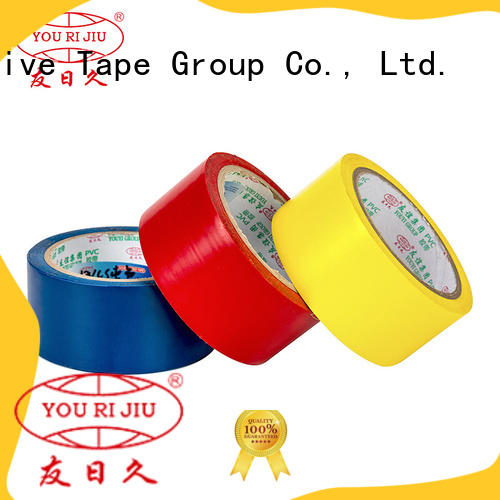 Yourijiu moisture proof pvc tape personalized for wire joint winding