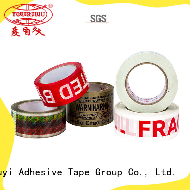 good quality bopp packing tape anti-piercing for carton sealing
