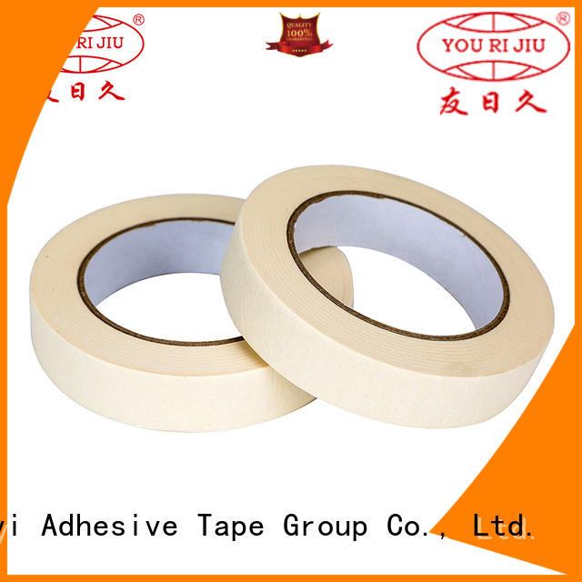 Yourijiu high temperature resistance masking tape price wholesale for woodwork
