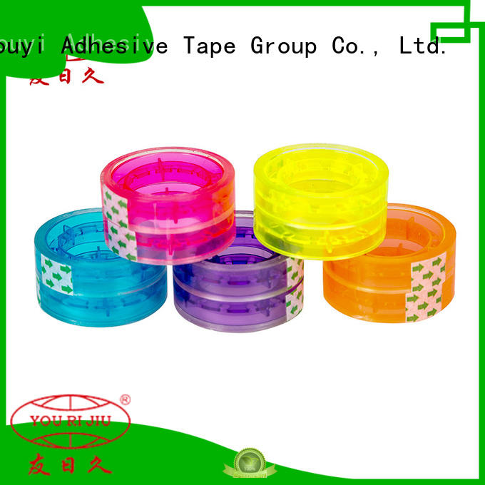 Yourijiu odorless colored tape supplier for auto-packing machine