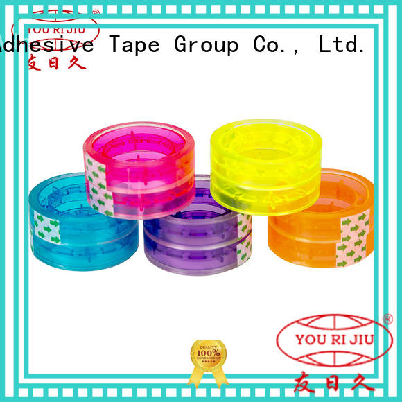 odorless bopp packaging tape high efficiency for gift wrapping