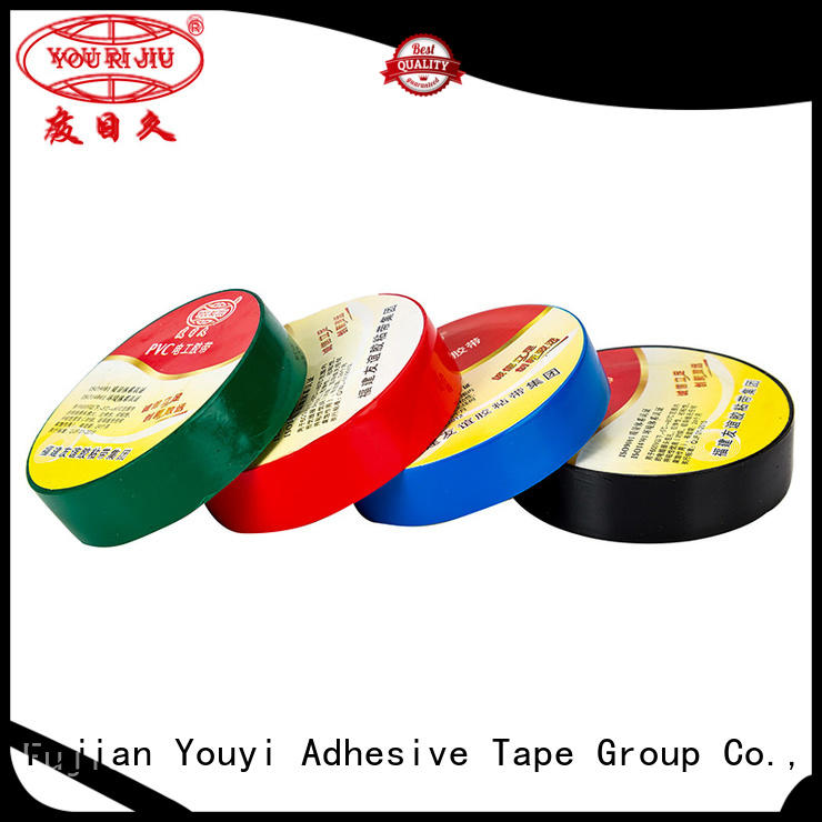 Yourijiu waterproof pvc electrical tape factory price for capacitors