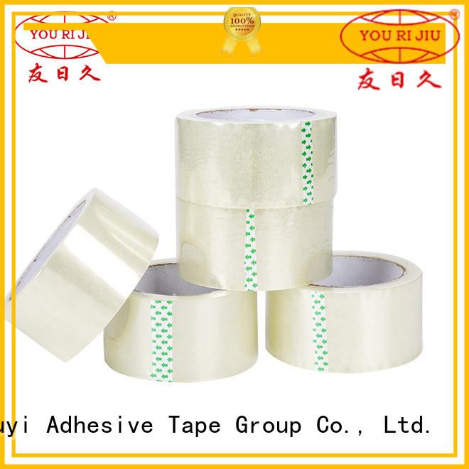 Yourijiu colored tape high efficiency for strapping