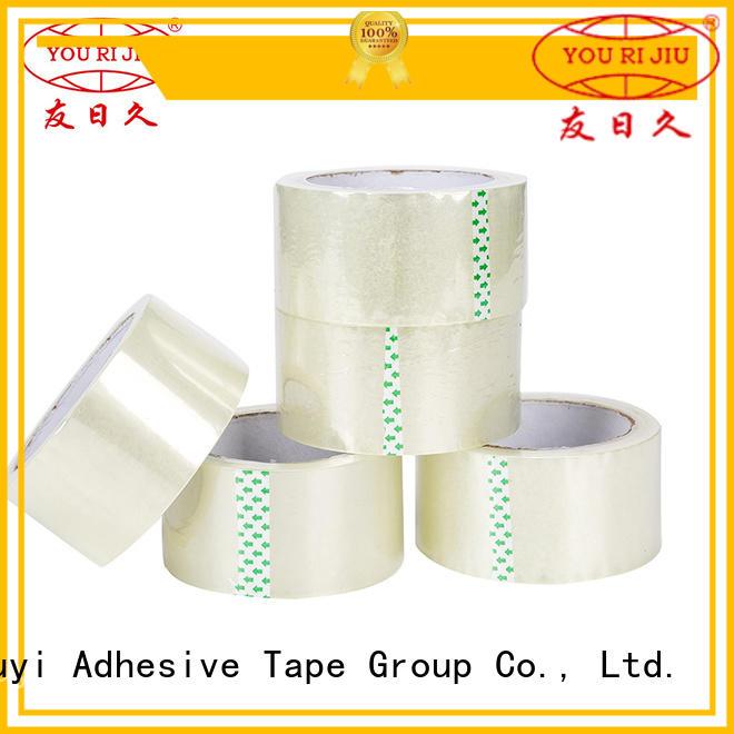 non-toxic bopp stationery tape anti-piercing for carton sealing