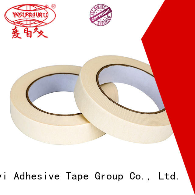 Yourijiu paper masking tape supplier for woodwork