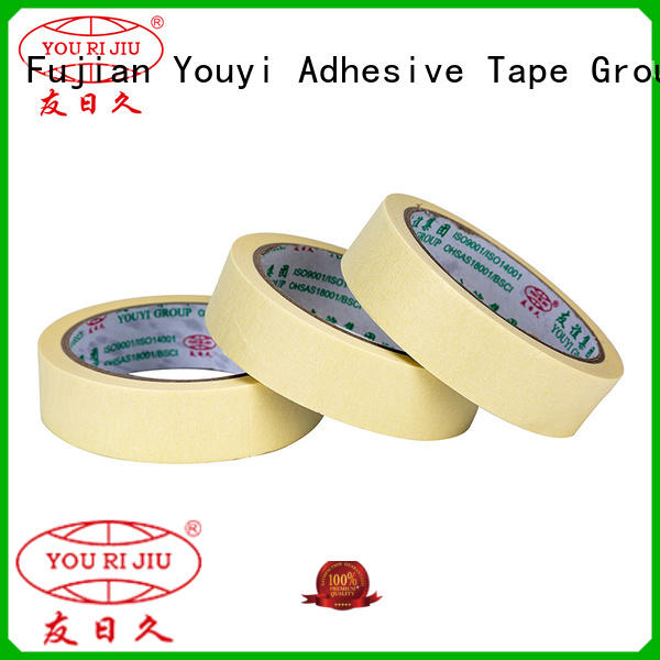 Yourijiu paper masking tape easy to use for light duty packaging