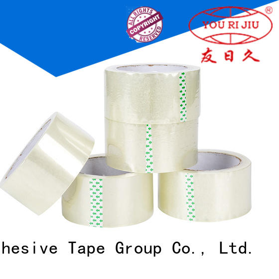 Yourijiu bopp adhesive tape supplier for gift wrapping