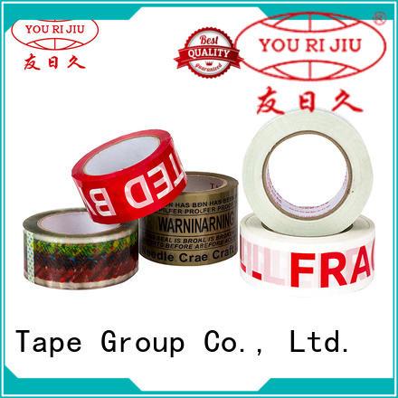 Yourijiu bopp packaging tape factory price for carton sealing