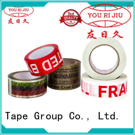 transparent bopp stationery tape supplier for strapping