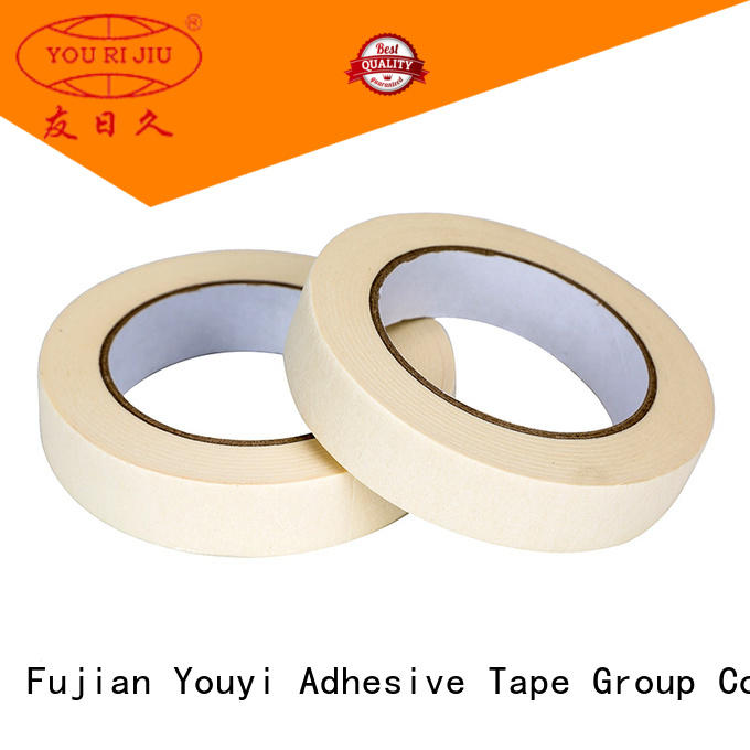 Yourijiu good chemical resistance adhesive masking tape directly sale for home decoration