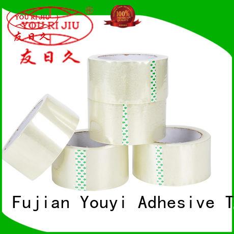 Yourijiu bopp adhesive tape supplier for decoration bundling