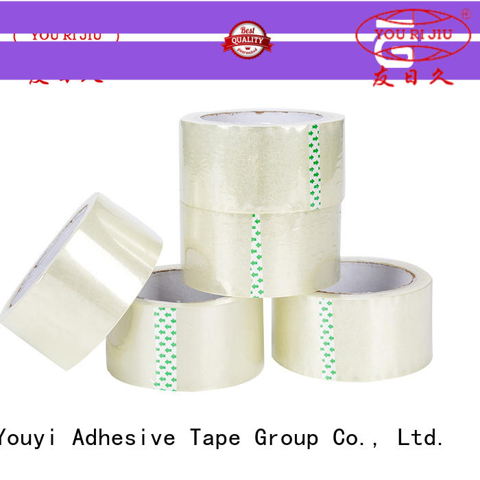 Yourijiu bopp adhesive tape high efficiency for decoration bundling