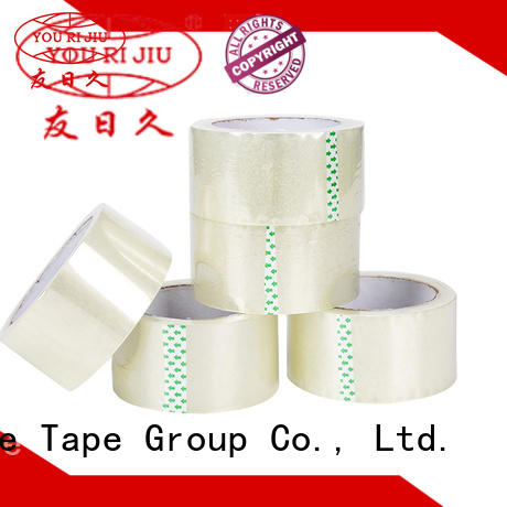 Yourijiu good quality bopp packing tape anti-piercing for strapping