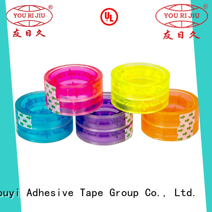 Yourijiu colored tape supplier for gift wrapping