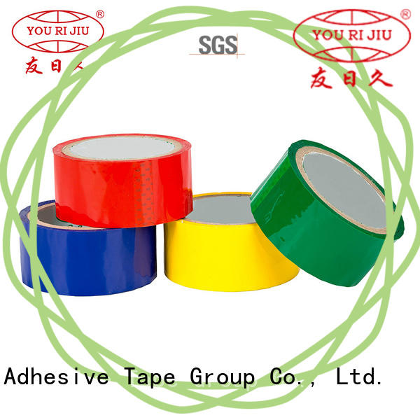 Yourijiu odorless bopp stationery tape factory price for decoration bundling