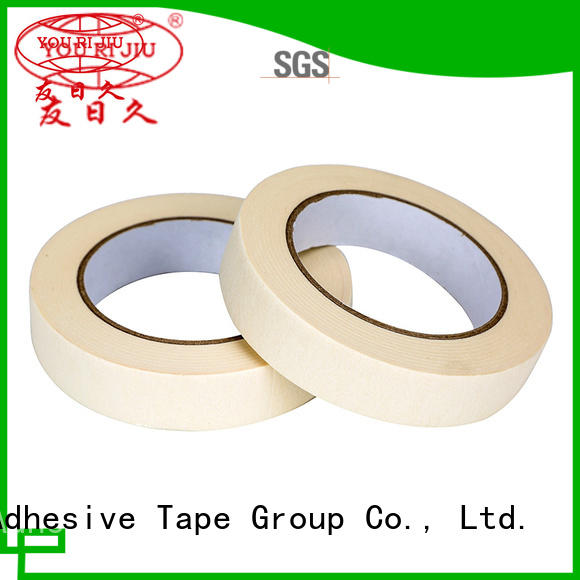 Yourijiu high temperature resistance masking tape supplier for woodwork
