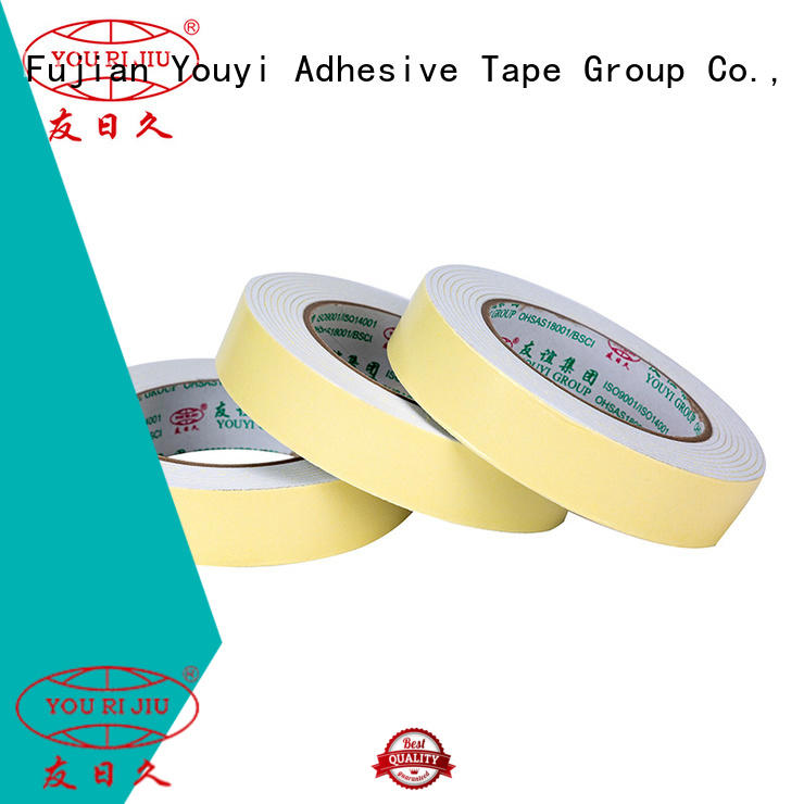 Yourijiu aging resistance double sided eva foam tape at discount for stickers