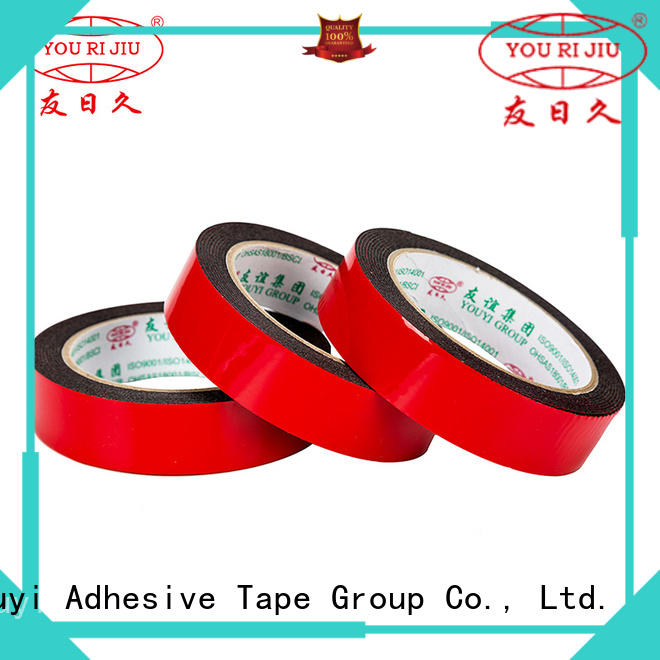 Yourijiu professional double sided foam tape at discount for stationery