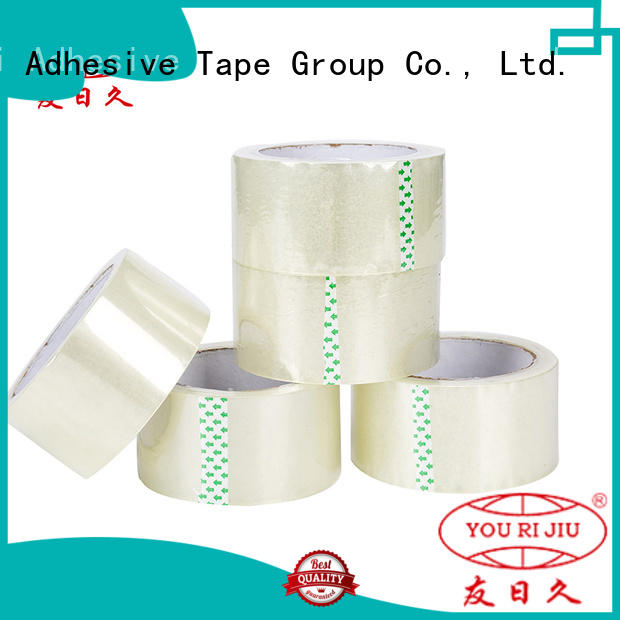 Yourijiu bopp packaging tape supplier for auto-packing machine